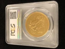 190万円を切る価格! 1911年 英国 ジョージ5世5ポンドプルーフ金貨 PCGS PR63
