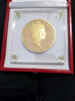 1985年 マン島 エンジェル10オンス金貨