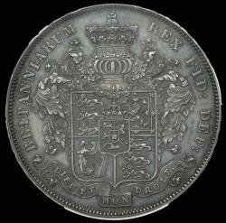 SPINK評価額22500ポンド 1826年 英国 ジョージ4世 プルーフクラウン銀貨 PCGS PF62
