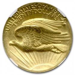 1907年 米国 セントゴーデンズ ハイリリーフ プルーフ金貨 NGC PF63