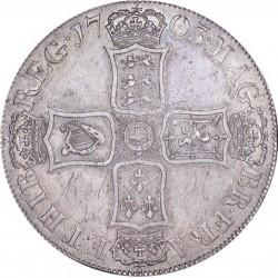 1703年 英国 アン女王 VIGO クラウン銀貨 aEF