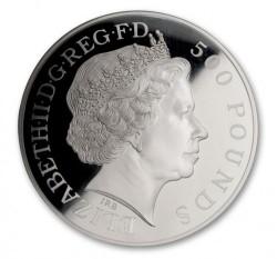 2013年 英国 ジョージ王子洗礼 1キロプルーフ銀貨 NGC PF70 Ultra Cameo