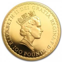 1988年 英国 ブリタニア プルーフ金貨4枚セット