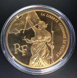 <FONT color=blue>大特価!</FONT> 1993年 フランス 民衆を導く自由の女神  5オンスプルーフ金貨
