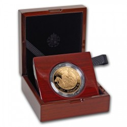 2017年 英国 プラチナ・ウエディング(70周年)1オンスプルーフ金貨