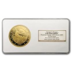 2005年 George T Morgan $100 5オンス金貨 NGC GEM Proof