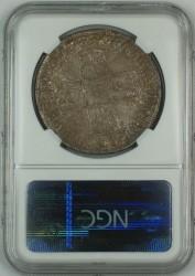 1707E 英国 アン女王 クラウン銀貨 NGC AU50