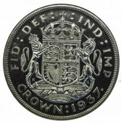R5(5-10枚) 1937年 英国 VIP クラウン銀貨 NGC PF67 CAMEO
