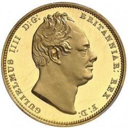 1831年 英国 ウィリアム4世2ポンドプルーフ金貨 PCGS PR63 Deep Cameo