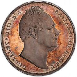 1831年 英国 ウィリアム4世 プルーフクラウン銀貨 PCGS PR65 Cameo