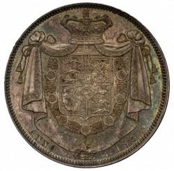W.Wyon刻印の激レア 1831年 英国 ウィリアム4世 プルーフクラウン銀貨 NGC PF63
