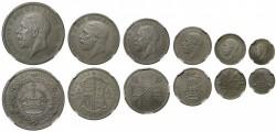 究極のセット 博物館級 1927年 英国 ジョージ5世 マットプルーフ銀貨6枚セット
