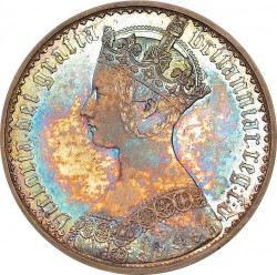 2月ピックアップ 激レア ESC-2578 1847年 英国 ゴチッククラウン銀貨 Pure Silver Plain Edge(プレーン・エッジ) NGC Altered Surface