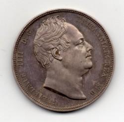 NGC PCGS合わせて単一最高鑑定 1834年 英国 ウィリアム4世プルーフハーフクラウン銀貨 NGC PF65+